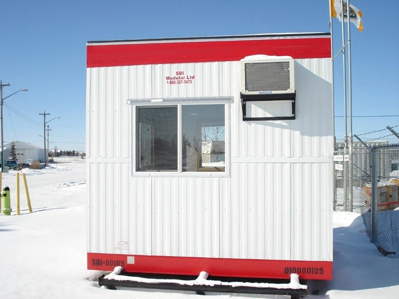 10×10 Skid Security Office