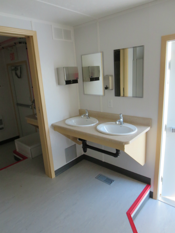 12×28 Self-Contained Lavatory