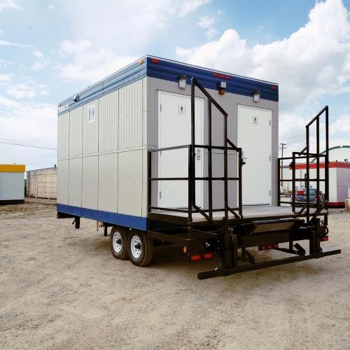 11x16 SC Wheeled Lavatory